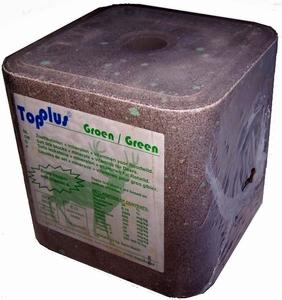 Top plus groen 10 kg wild liksteen p/st